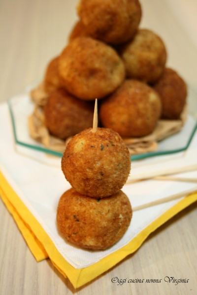 Crocchette di patate finger food
