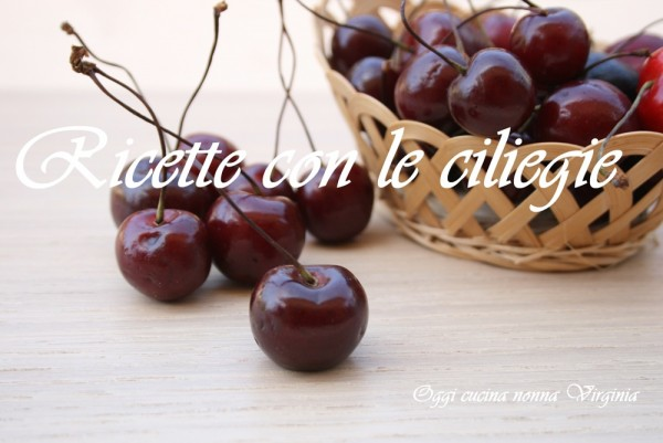 Speciale ricette con ciliegie tutti a tavola con cinzia - Ricette tutti a tavola ...