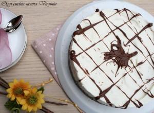 cheesecake cioccolato e riso soffiato,Oggi cucina nonna Virginia