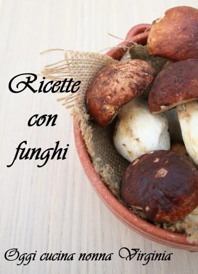 ricette con funghi