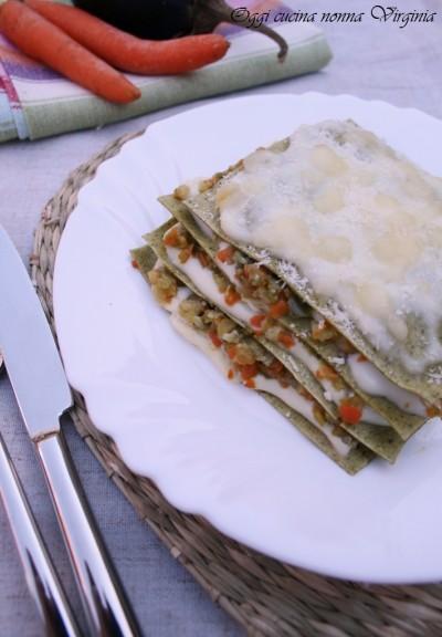 Lasagne vegetariane tutti a tavola con cinzia - A tavola con guy ricette ...