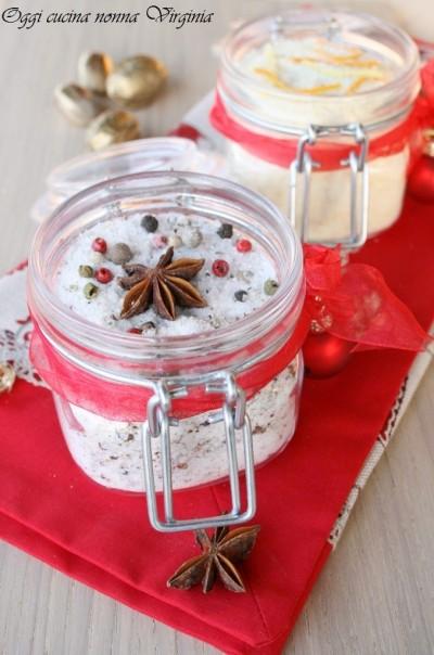 Regali di Natale video ricetta: sale speziato e sale agli agrumi