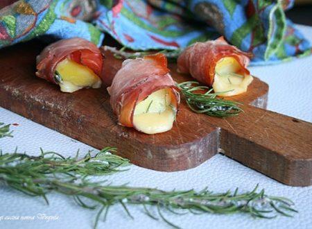 Involtini di speck e patate