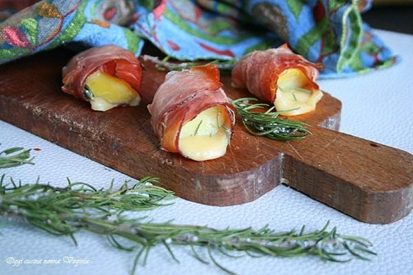 bocconcini patate e speck
