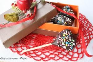 lecca lecca al cioccolato videoricetta,Oggi cucina nonna Virginia