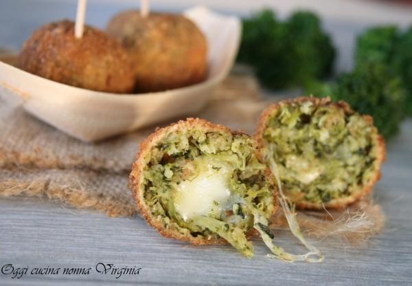 polpette di broccoli,Oggi cucina nonna Virginia