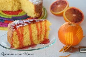 torta all'arancia,Oggi cucina nonna Virginia