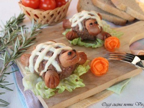Hamburger tartaruga