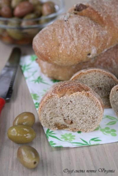 pane alle olive,Oggi cucina nonna Virginia