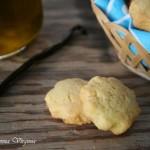 Biscotti all'olio e vaniglia