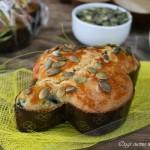 Colomba salata ricotta e spinaci