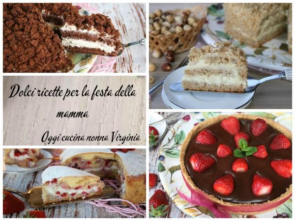 Dolci ricette per la festa della mamma tutti a tavola for Ricette per tutti i giorni della settimana