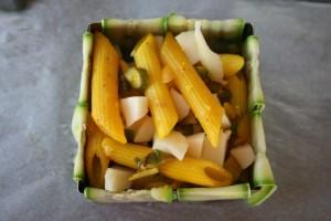 timballo di pasta zucchine ed asparagi,Oggi cucina nonna Virginia
