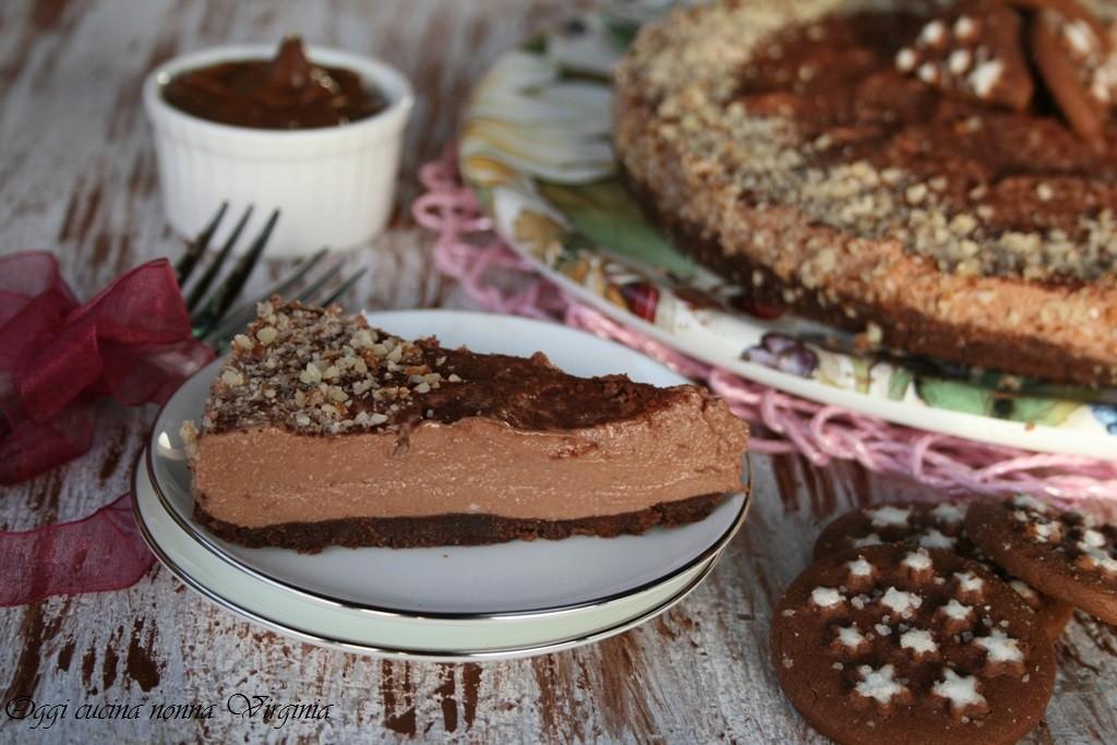 cheesecake pan di stelle e nutella
