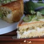 Torta zucchine e ricotta