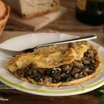 Omelette alla boscaiola,Oggi cucina nonna Virginia