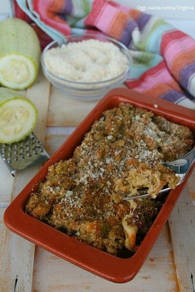 Sformato di zucchine,Oggi cucina nonna Virginia