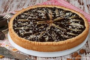 Crostata cioccolato e pere,Oggi cucina nonna Virginia