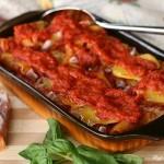 Pasta e patate alla calabrese al forno