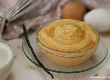 Crema pasticcera da forno