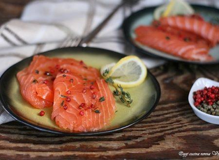Come fare il salmone marinato