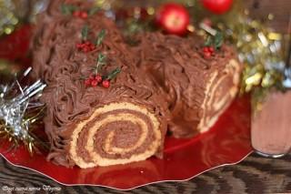 Tronchetto di Natale al mascarpone,Oggi cucina nonna Virginia