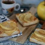 Sfogliatine crema e mele con cannella Video ricetta