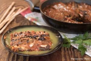 Parmigiana di melanzane senza forno e senza frittura