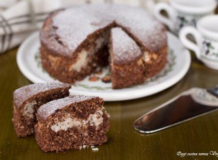 Torta cocco e cioccolato