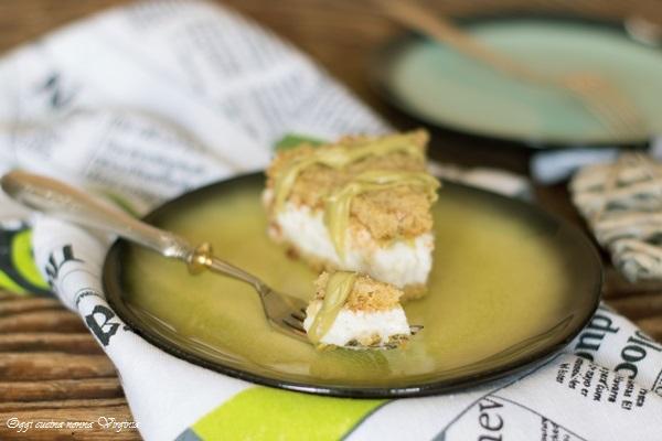 Torta pistacchi e ricotta