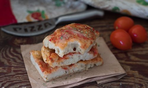 Pizza senza impasto video ricetta