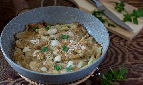 Finocchi gratinati ricetta in padella video ricetta