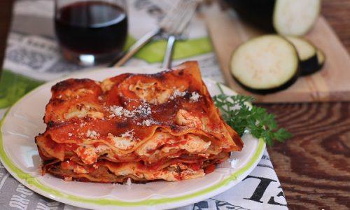 Lasagne alla parmigiana e ricotta