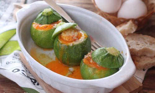 Zucchine tonde ripiene video ricetta