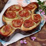 Torta di rose zucchine e salamino