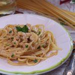 Spaghetti alla carbonara di pesce video ricetta