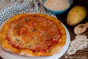 Pizza ai 5 cereali con il trucchetto della patata