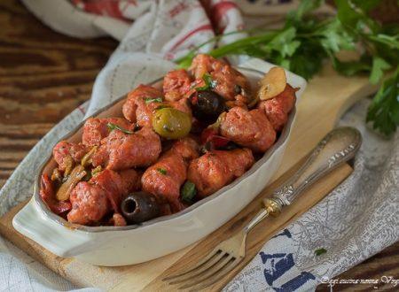 Salsicce gustose in padella