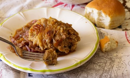 Cosce di pollo imbottite