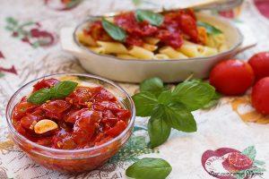 Sughi per pasta il sugo di pomodori freschi