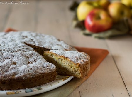Torta di mele con la forchetta Senza robot