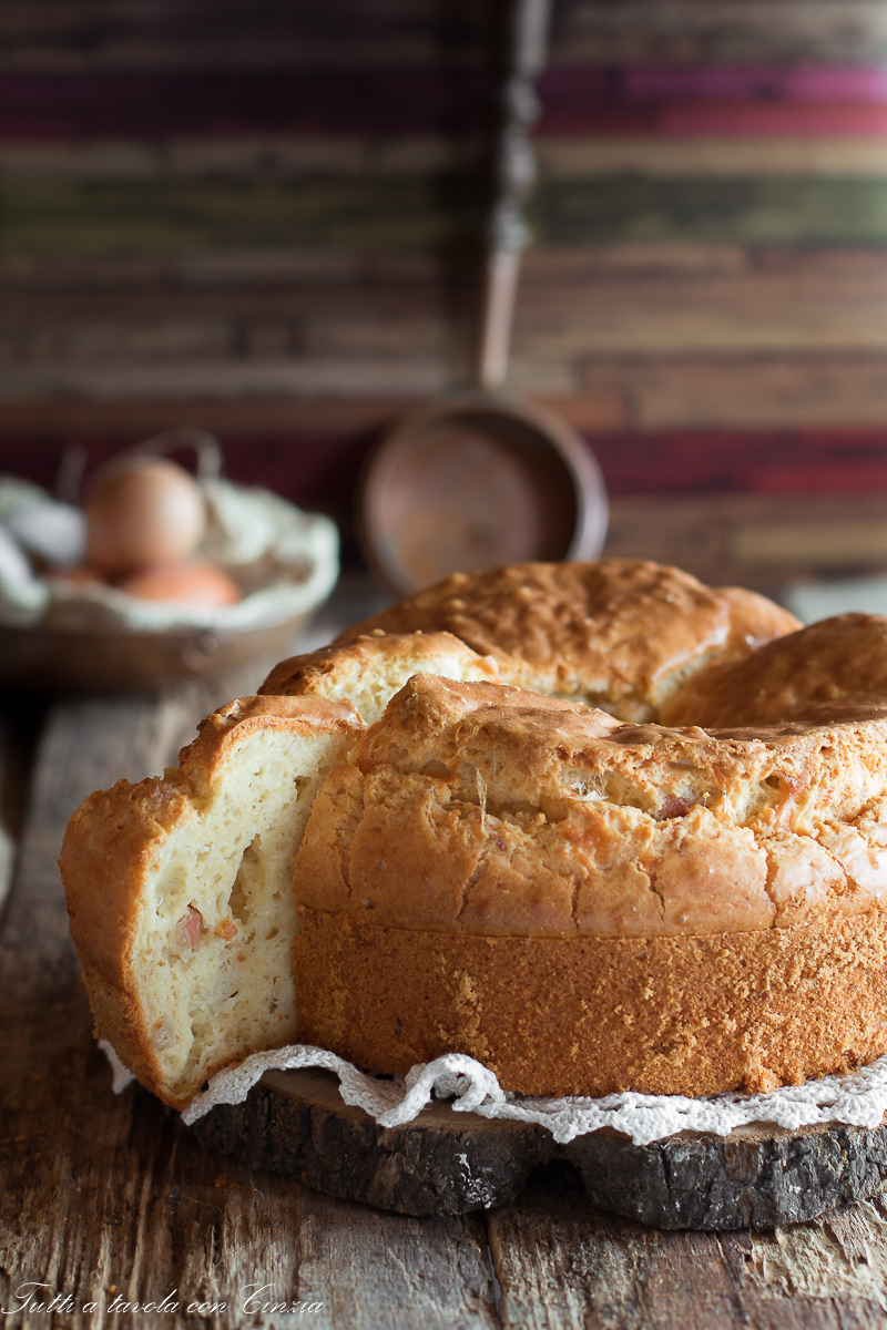 Chiffon cake salata