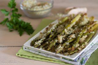 asparagi gratinati in padella
