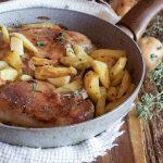 pollo arrosto in padella