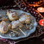 Alberelli di Natale pasta sfoglia e nutella