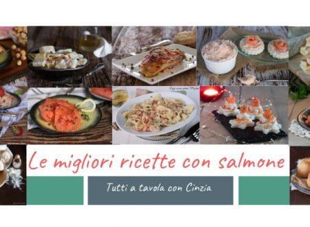 Le migliori ricette con salmone