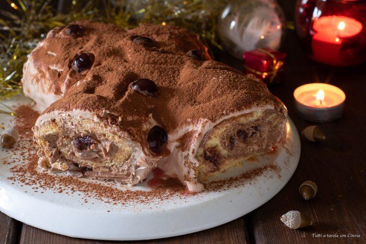 Tronchetto Di Natale Con Pandoro.Tronchetto Di Natale Con Pandoro Ricetta Natalizia Senza Accendere Il Forno