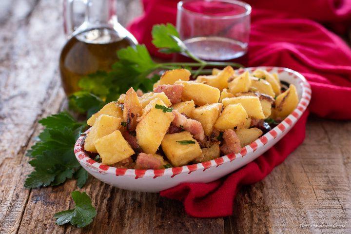patate e speck al forno