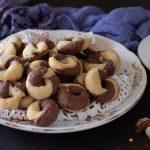 Frollini al cacao e vaniglia