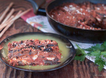 Parmigiana senza frittura e senza forno
